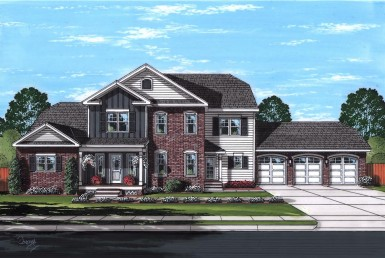 Monticello - Elegant, 5 Bedroom Plan