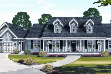 James Island III - Cape Cod Modular Home