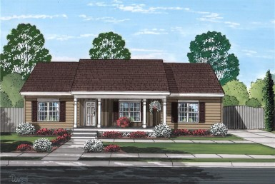 Smithtowne II - Ranch - Modular Home Floor Plan