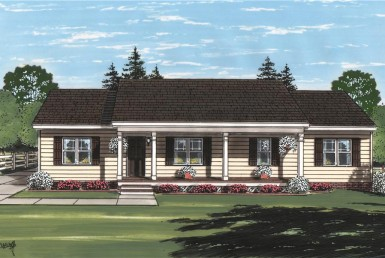 Junction Pointe I - Ranch - Modular Home Floor Plan