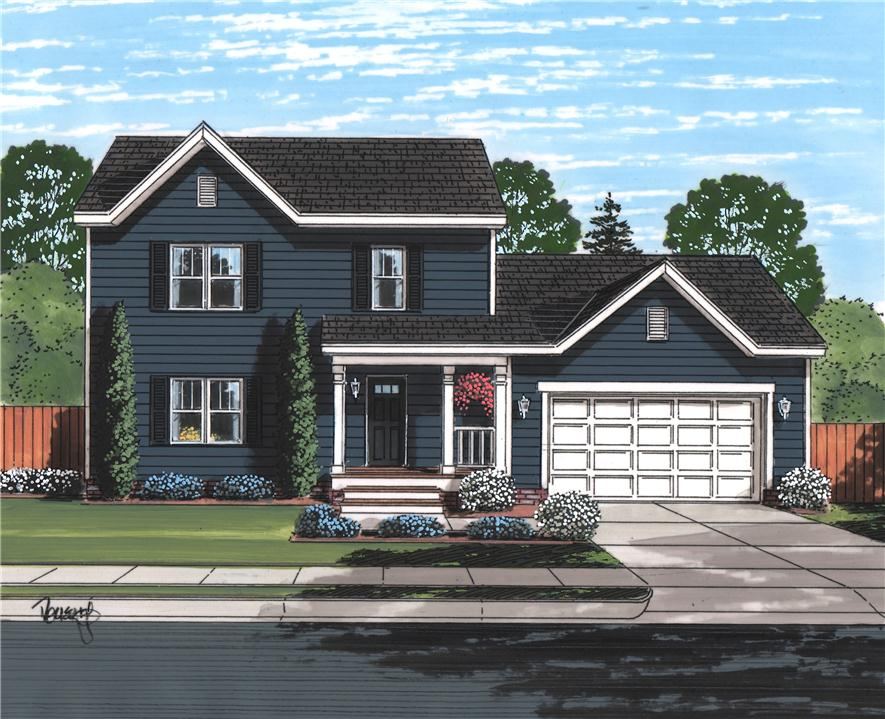 Sage II - Two Story - Modular Home Floor Plan
