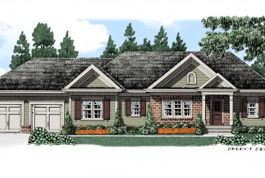 Darien - Ranch - Modular Home Floor Plan