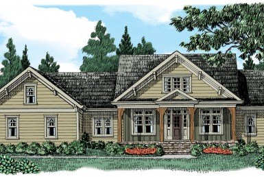 Gallaway - Cape Cod - Modular Home Floor Plan