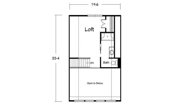 June Bug Chalet - Two Story - Modular Home Floor Plan