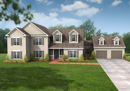 Legacy Hampton 0109 - Two Story - Modular Home Floor Plan
