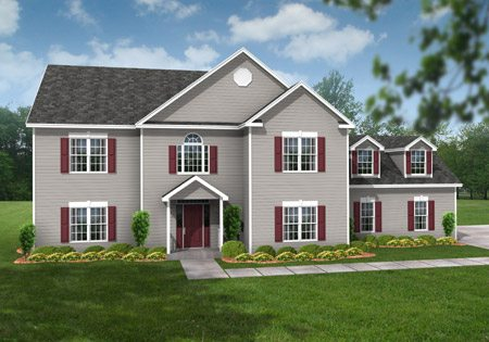 Legacy Hillsdale 0107 - Two Story - Modular Home Floor Plan