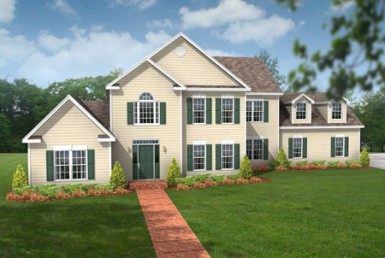 Legacy Jamestown 0108 - Two Story - Modular Home Floor Plan