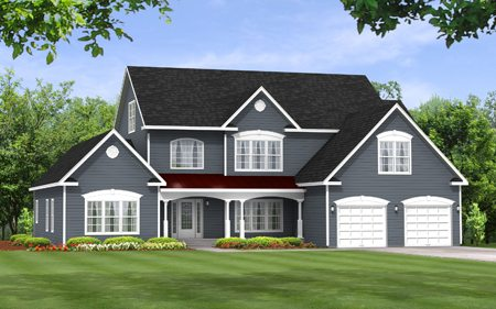 Manhattan 3256 - Two Story - Modular Home Floor Plan