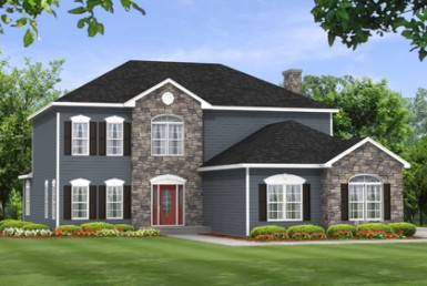 Marietta 3254 - Two Story - Modular Home Floor Plan