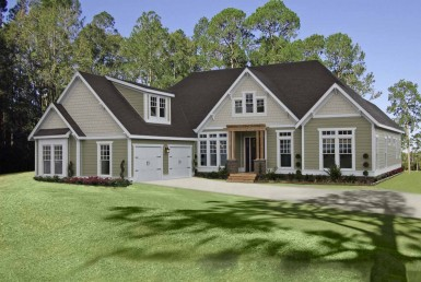 Palmetto - Ranch - Modular Home Floor Plan