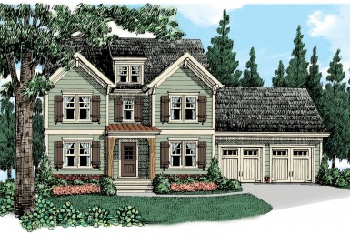 Preston - Two Story - Modular Home Floor Plan