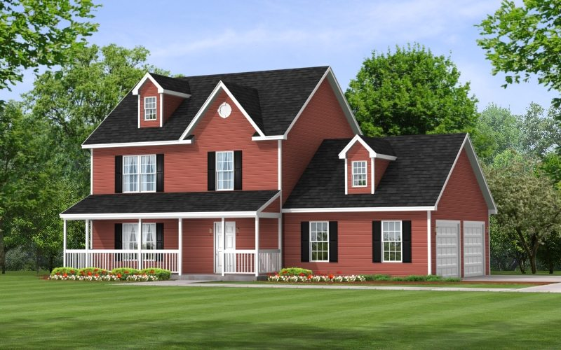 Providence 6700 - Two Story - Modular Home Floor Plan
