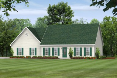 Westport I 5901 - Cape Cod - Modular Home Floor Plan