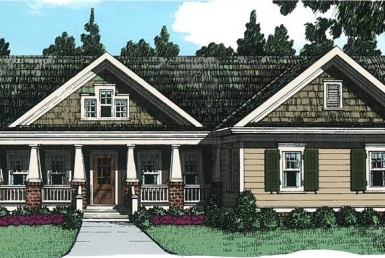 Amanda - Ranch - Modular Home Floor Plan
