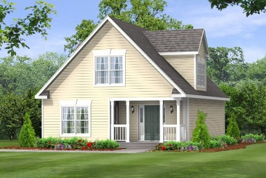 Birmingham 2034 - Cape Cod - Modular Home Floor Plan