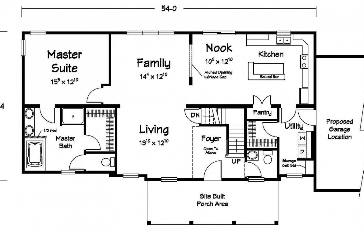 Cheshire - Two Story - Modular Home Floor Plan