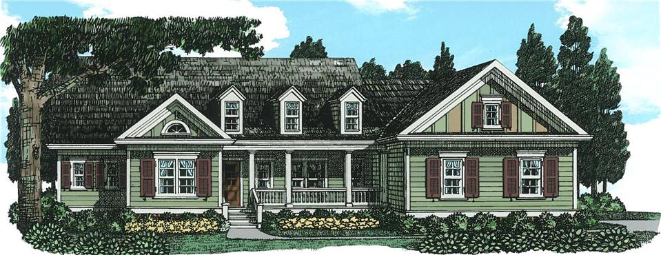 Claire - Cape Cod - Modular Home Floor Plan