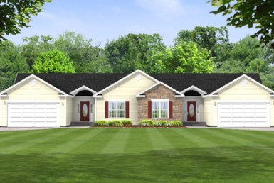 Dickenson - Duplex & Townhouse - Modular Home Floor Plan