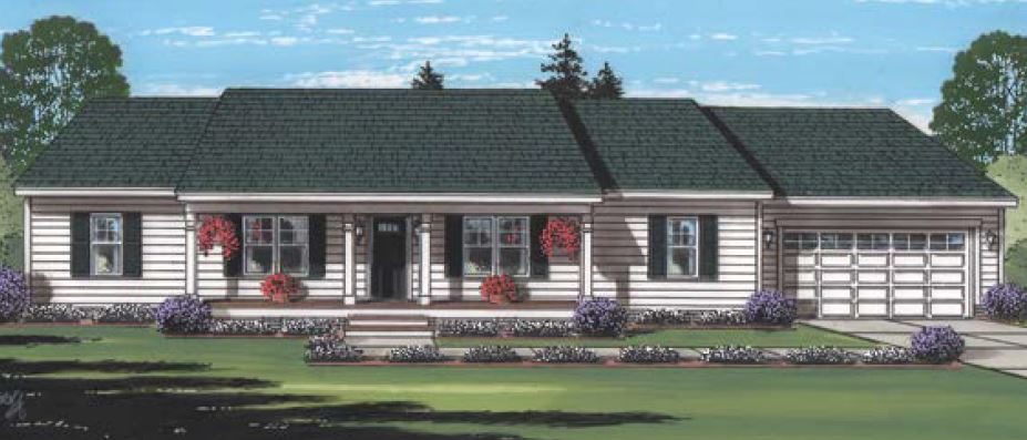 Fitchburg I - American Heritage - Ranch - Modular Home