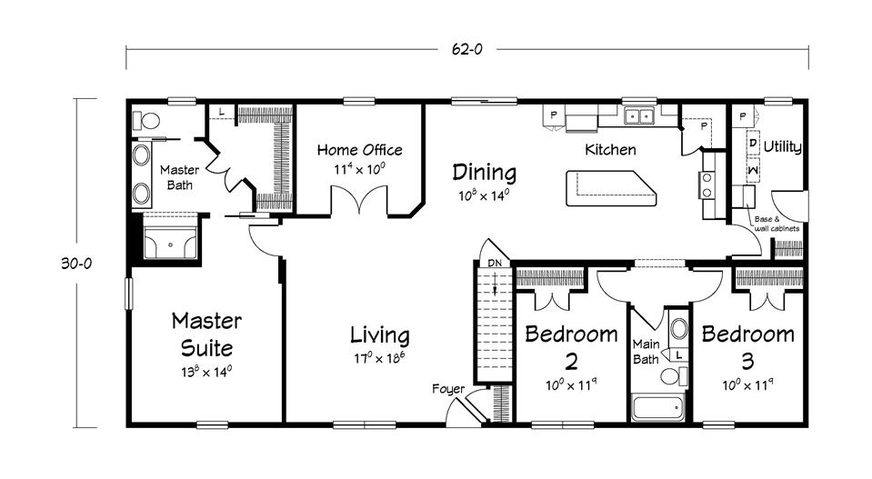 American Heritage Home Floor Plans