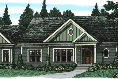 Glen Oaks - Cape Cod - Modular Home Floor Plan