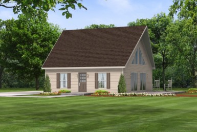 Lakeside 4030 - Cape Cod - Modular Home Floor Plan