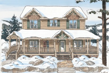 Mt. Laurelle Two Story - Two Story - Modular Home Floor Plan