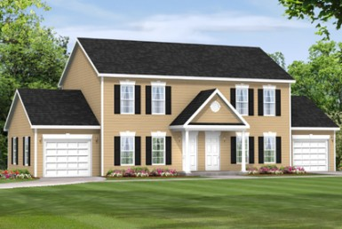 Middlesex - Duplex & Townhouse - Modular Home Floor Plan