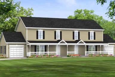 Roanoke II - Duplex & Townhouse - Modular Home Floor Plan
