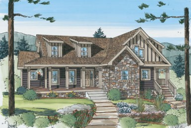 Grand Teton Cape - Cape Cod - Modular Home Floor Plan