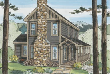 Timber Ridge Two Story - Two Story - Modular Home Floor Plan