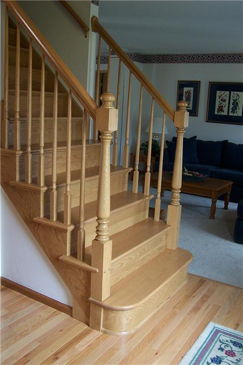 ProFit Oak Stair Quarter Circle Tread