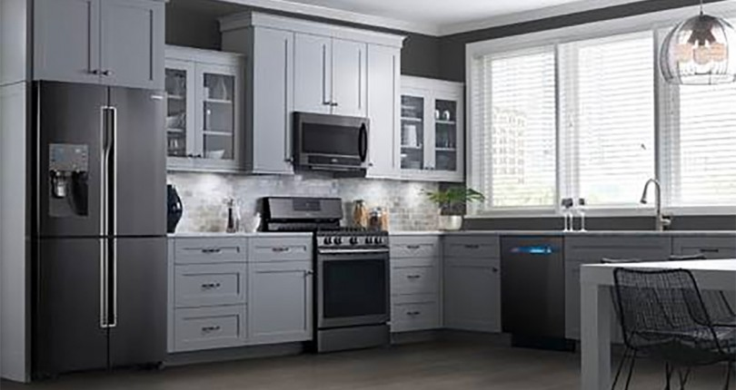 2017 Design Trend: Black Stainless Steel Appliances