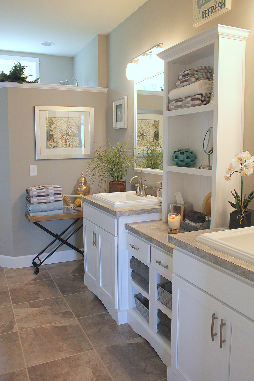Willow Creek - Master Bath