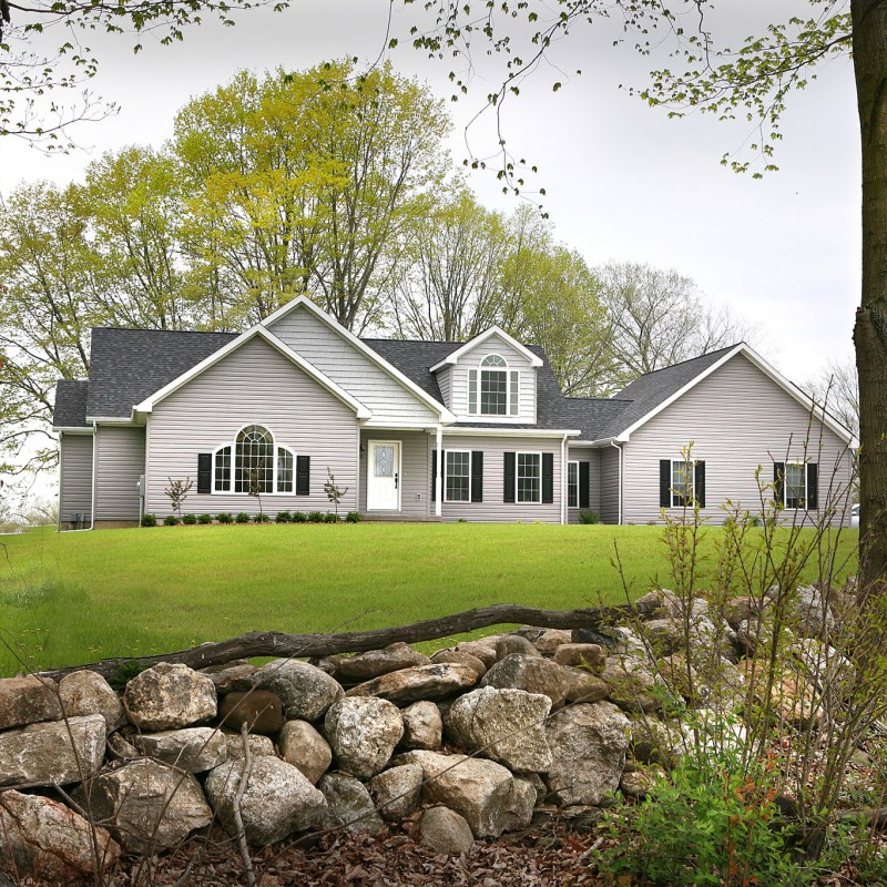 Cape cod photo gallery db homes for Cape cod model homes