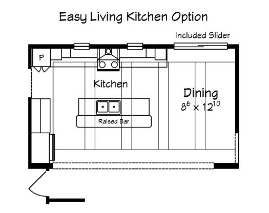 Everly - Homestead - Easy Living Kitchen Option